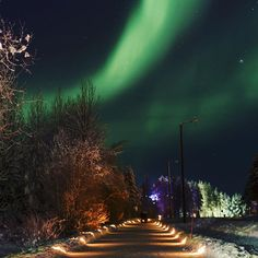 You will be able to see the Aurora Borealis better in the Ylläs area skies since we will keep the street lights turned off between 10 p.m. and 6 a.m. starting from today until 19th February 2016.