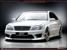 Mercedes S Klasse W220 Komplettvers Spoiler Set Body Kit Tuning Umbau neu Verbau