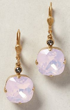pretty crystal drop earrings #anthrofave  http://rstyle.me/n/tcff6pdpe