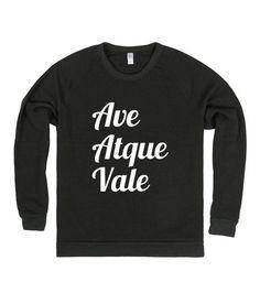 Ave Atque Vale