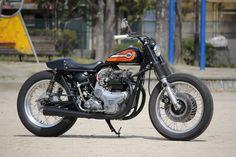#Kawasaki W3 #motorcycle by Motor Garage Goods