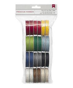 Take a look at this Basics Hemp Twine Ribbon Set today!