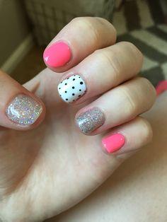 Bright summer nails