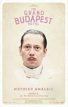 Mathieu Almaric as Serge X. ~ Head Butler, Schloss Lutz #thegrandbudapesthotel