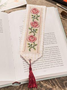 cross stitch bookmark big