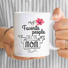 Christmas Gifts For Mom Son Gift My Favorite People Call Me