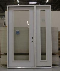 1 Lite Clear Glass Steel Exterior Door 6-8 | Darpet Interior Doors for Chicago & 2 Panel Square Steel Exterior Door 7-0 | Darpet Interior Doors for ... Pezcame.Com
