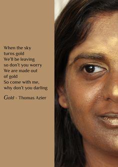 Songtekst - Gold by Thomas Azier - Manisha van Setten