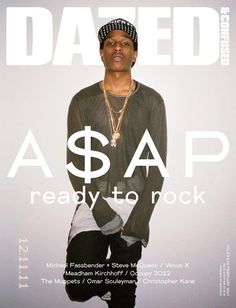 FEBRUARY, 2012   A$AP Rocky shot by Ari Marcopoulos.