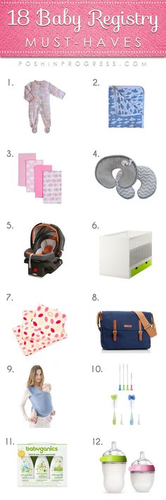 When your're expecting your first baby it's tough to know what you actually need and what will eventually gather dust or be returned to store. Hear the baby registry items I found the most helpful.