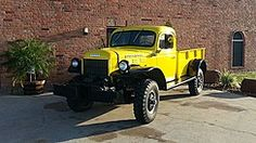 I just love these bad asses. The year don't count. They are all the best. 1950 Dodge Power Wagon Pick-Up.