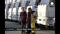 280 caminones rusos con ayuda humanitaria se dirigen al este de Ucrania