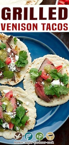 """Tacos! Everyone loves tacos, right? I do. And if you're a deer hunter, you will want venison tacos in your rotation. Many years ago, before I started this years' long deep dive into Mexican cuisine, Holly introduced me to the idea of taco night. Holly, being a native Californian, has a history with """"taco night"""" that as a Jersey Boy I just didn't have. (I've fixed that in the past decade…) 