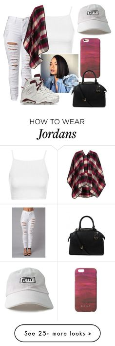 """""""Petty"""" by wvnnie on Polyvore featuring moda, NIKE, Topshop, Jigsaw e Michael Kors"""