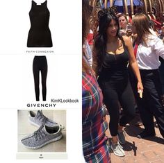 Kim kardashian west outfit for nort west birthday at disneyland, maternity style, streetstyle