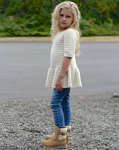 Peplum crocheted top pattern by Heidi May