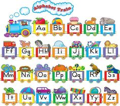 Remind young students of the shape and sound of each letter with this bulletin board. An example of each letter rides in its own car! 31 pieces. A 4-page Teacher's Guide is included. This product is acid-free per industry standards; contact us for technical information.