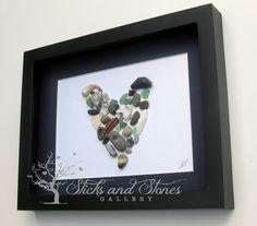 Pebble Art Gift New Home Gift Handmade Gifts por SticksnStone