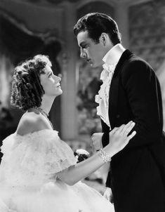 "Greta Garbo as Marguerite Gautier and Robert Taylor as Armand Duval in ""Camille (Margarita Gautier)"" (1936). Director: George Cukor."