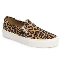 Leopard Vans Slip-On Sneaker