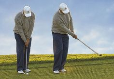 """In order to chip to the best of one's ability, soft hands are a necessity, just like in any other sport. Tiger Woods advocates this tip, and recommends """"light grip pressure (about 4 on a scale of 1-10, with 10 being the tightest) to ensure a lack of tension in your arms and softness in your hands. Then you simply use the basic chipping technique ball toward the back of a slightly open stance to promote ball-first contact, chin high and back straight."""" More: Soften Hands, Save Shots, by Tiger…"""