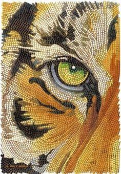 zentangle tiger - Google Search