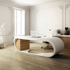 Beautiful desk - wow.