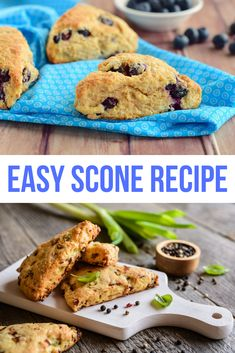 Try this simple scone recipe that turns out perfect every single time. These tasty little treats are delightful for a breakfast snack or anytime with a cup of tea. You'll be surprised how easy it is to make homemade scones in just a matter of minutes. #Scones #SconeRecipe #TeaTime