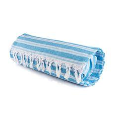 Ocean Blue Pillow Towel - Sand Cloud $39