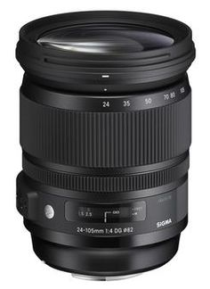 Sigma 24-105mm F/4 DG  OS HSM Lens (Sony Mount) : The Sigma 24-105mm F4 DG OS HSM Art lens is a premium lens designed for full frame cameras and will also work with APS-C sensors with an effective increase in focal length. The 24-105mm F4 is a highly versatile focal range and staple everyday lens. With the increasing resolution power of new sensors, it is designed to bring out the true potential of evolving camera technology.