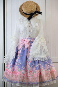 Reminder: [-✿-Cat's Broom ~The Secret Garden~ Lolita Skirt-✿-] pre-order will END TOMORROW >>> http://www.my-lolita-dress.com/cat-s-broom-the-secret-garden-lolita-skirt-cb-6
