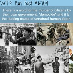 Democide - WTF? not-so-fun facts