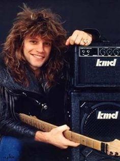 Jon Bon Jovi circa 1984/1985