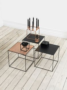 If you like the KUBUS - you're really gonna love this TWIN table - By Lassen