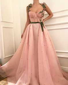 Unique sweetheart neck tulle long prom dress, tulle evening dress, Customized service and Rush order are available Ball Gown Dresses, Prom Dresses, Formal Dresses, Dress Prom, Long Dresses, Dress Wedding, Casual Dresses, Party Dress, Sweetheart Prom Dress