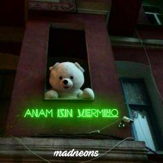 Daha fazlası için takip edelim @neonsozleri  Via @madneons  #neon #neonlights #neonyazı #neonsezer #neonmesto #neonyazi Bts Funny Videos, Digital Art Girl, Girly Pictures, Mood Pics, Cool Cartoons, Gumball, Cool Words, Karma, Emoji