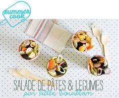 Summer cook : salade de pâtes & légumes par Little Bouillon