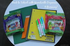 Back To School with YumEarth Organics & Giveaway!