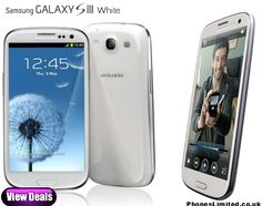 Marble White Samsung Galaxy S3 - http://www.phoneslimited.co.uk/Samsung/Galaxy+S3+White.html