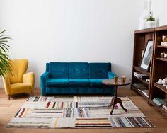 Tapis #Patchowork Melisa Le Melisa est pur et non teint. Cela permet au tapis de briller par sa composition à 70 % de coton, à 15 % de poils de chèvre et à 15 % de laine. Le Melisa est parfait dans un cadre rustique. Un très bon choix pour rendre une pièce plus cosy et relaxante. Choisissez un tapis Caput non teint et vous verrez par vous-même pourquoi tant de gens aiment cet ancien design. #sukhi #tapis #multicolore