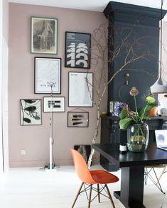 """The Nice Stuff Collector op Instagram: """"Pink! Painting colour by @littlegreenepaintcompany Ben er nog steeds zo blij mee! ✌️ Enjoy today 😃"""""""