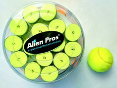 Brightness and comfort! Neon overgrips available on alien-pros.com #bepro #beunique