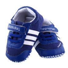 Bebê recém-nascido infantil Unisex antiderrapante de camurça de fita Lace Up tênis macio Prewalker macio berço sapatos 3 - 18 M(China (Mainland))