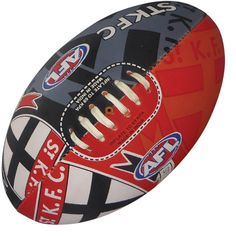 St Kilda Saints Footy Ball by Burley