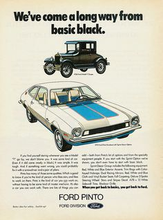 1972 Ford Pinto Runabout. My first car.