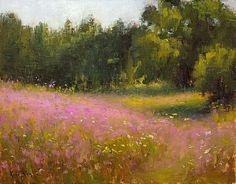 Summer Fields by Kami Mendlik Oil ~ 11 x 14