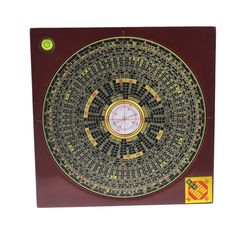 8 Inch Feng Shui Compass Luo Pan/lou Pan Tool W Free Fengshuisale Red String Bracelet J2352 >>> Additional details at the pin image, click it  : Home Decor Tassels
