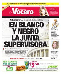 Edición 13 de Abril 2016  El Vocero de Puerto Rico