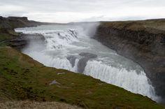 Gullfoss - Iceland, the golden waterfall!