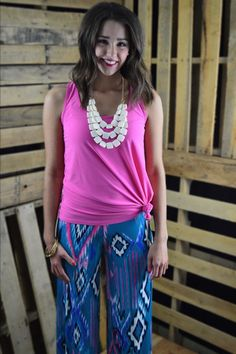 Cheyenne Palazzos – The ZigZag Stripe - Use ZZS27 for FREE SHIPPING!
